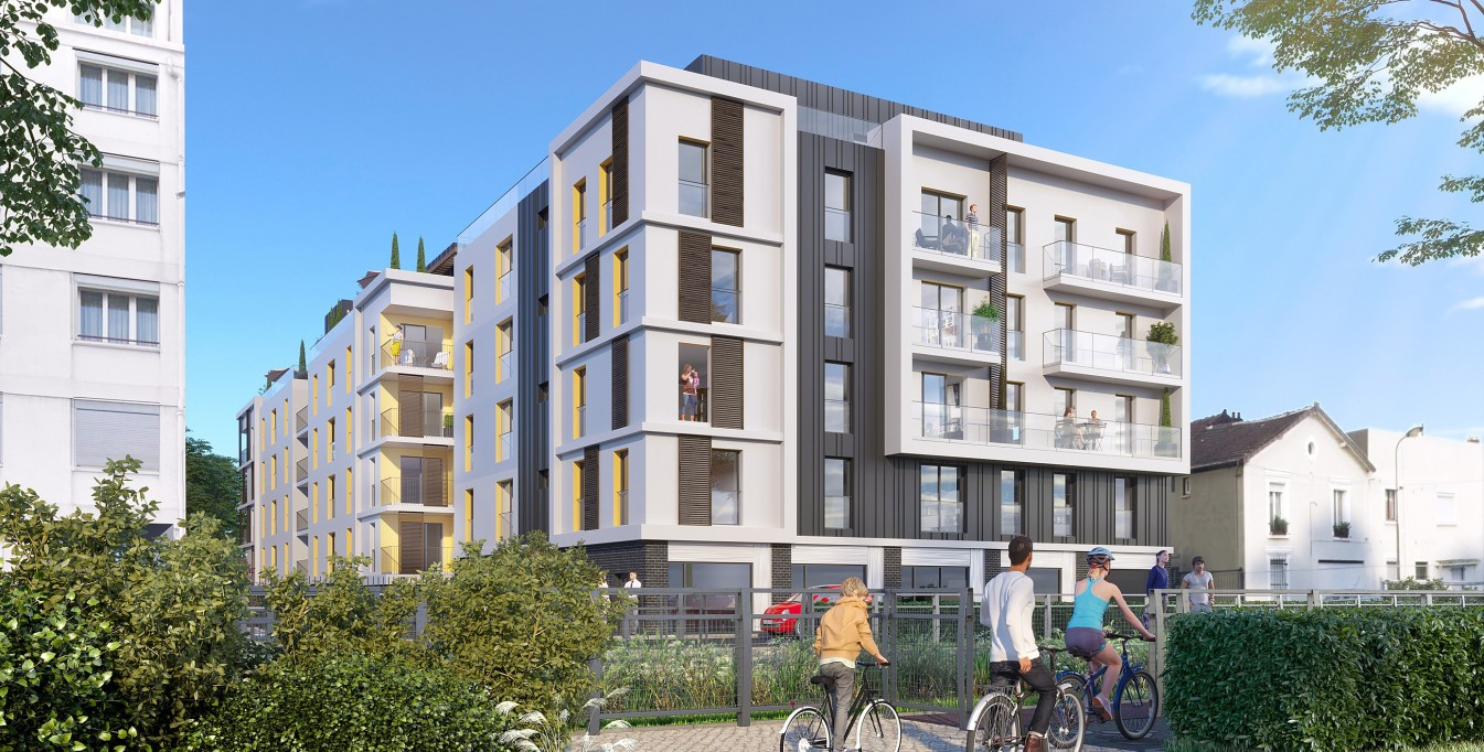 Appartement Neuf Villemomble résidence Villa Molière Martek Promotion